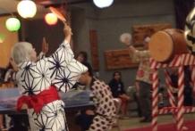 Bon Odori dancing